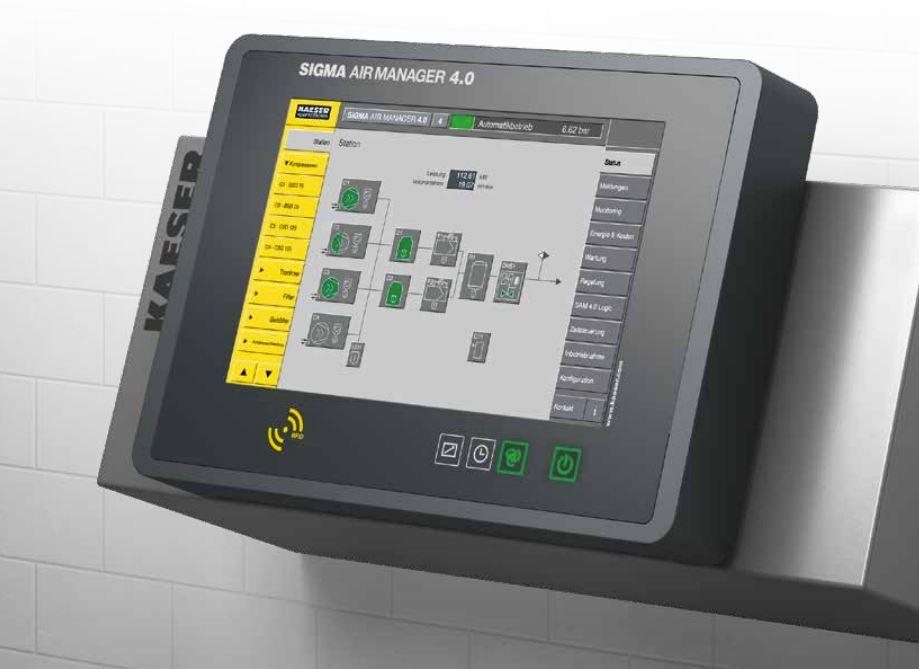 Cómo se monitoriza una sala de compresores de aire
